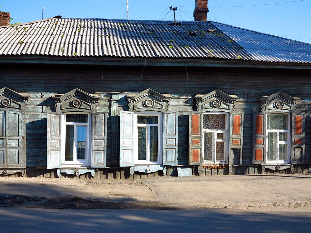 Siberian Wooden Houses   Irkutsk Siberia Russia   Flickr