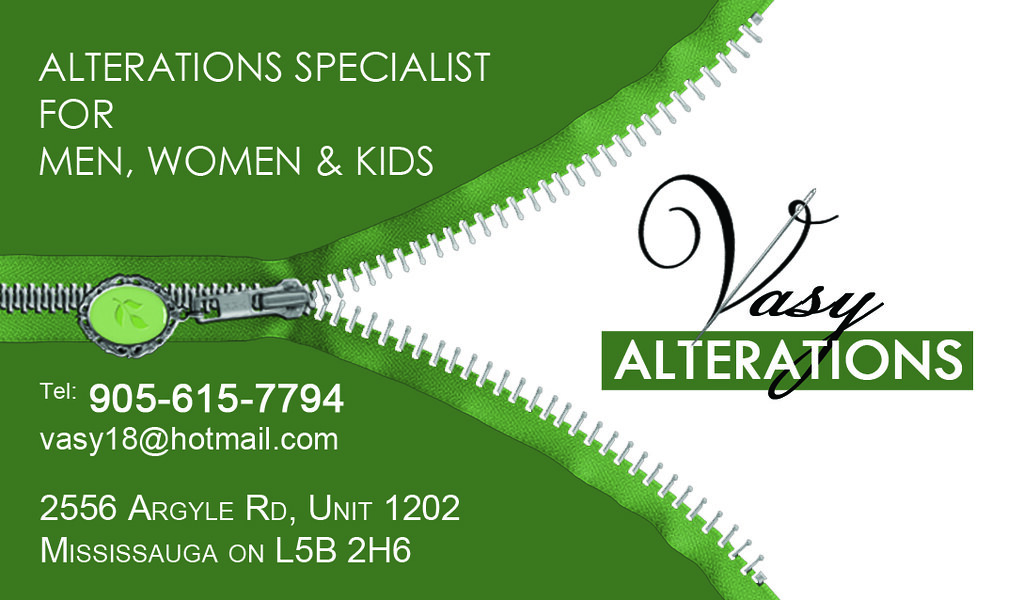 Images of Ladies Tailor Visiting Card - #SpaceHero