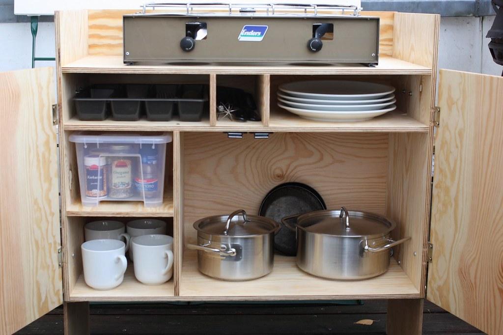 Outdoor Küche Camping : K kochkiste gefüllt nah wir wollten eine campingküche u flickr