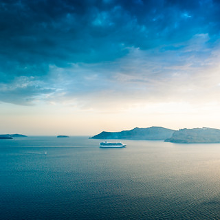 Greece Santorini Sky | by ►CubaGallery