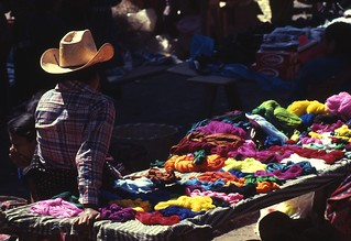 Mayan boy selling colored embroidery thread | by Under the same moon...