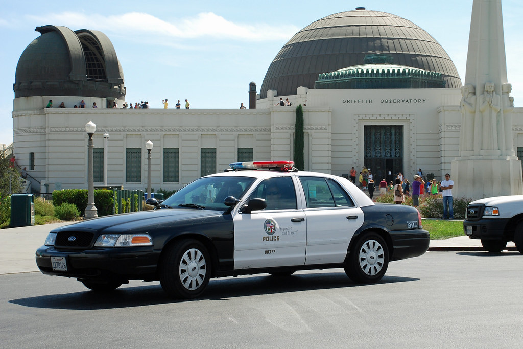 Lapd Los Angeles Police Dept Ford Crown Victoria At Griff Flickr