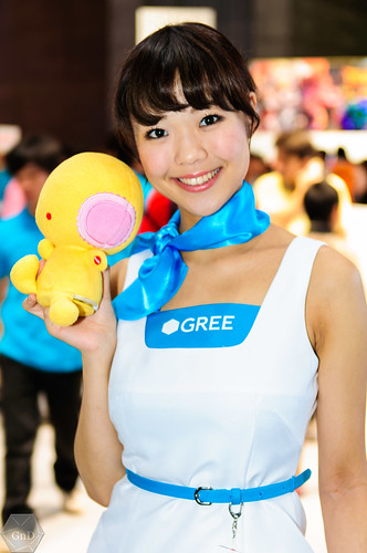 Booth babe Tokyo Game Show 2012 | by @coganerd