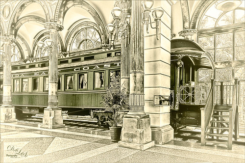 Image of Henry Flagler's Railcar No. 91