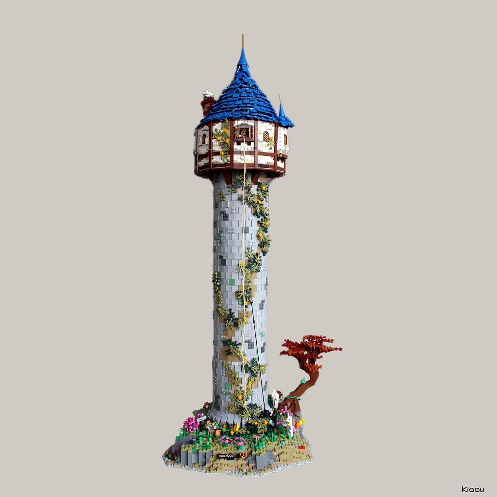 the rapunzel tower la tour de raiponce tower height