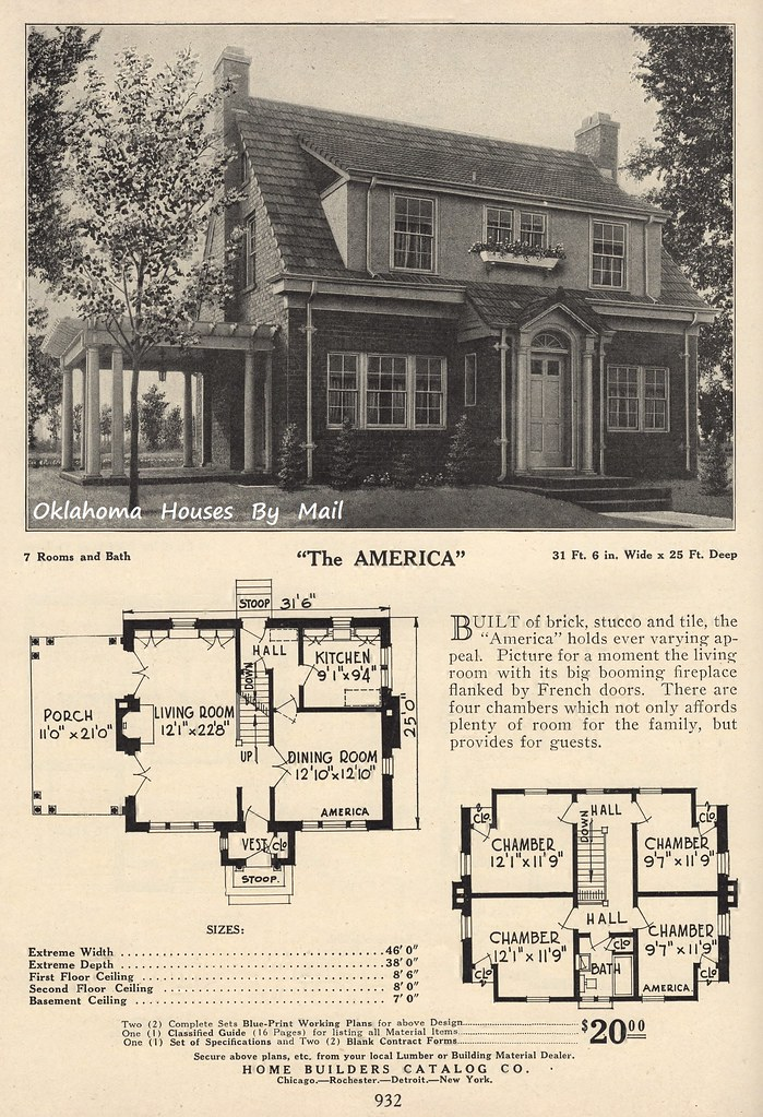 Home builders catalog 1926 the america home builders for Americas home builders