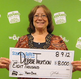 Debbie Thomson - $8,000 Happy Days | by Idaho Lottery