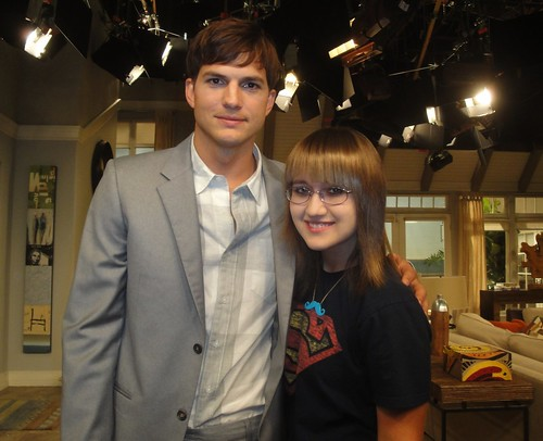 Ashton Kutcher - Two And A Half Men taping | by sarahmonline