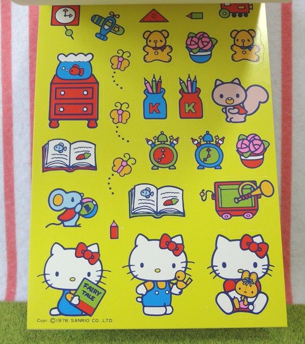 41d2f3622 ... HarapekoDoggyBag Vintage 1976 : Sanrio Hello Kitty Coloring Book With  Stickers | by HarapekoDoggyBag