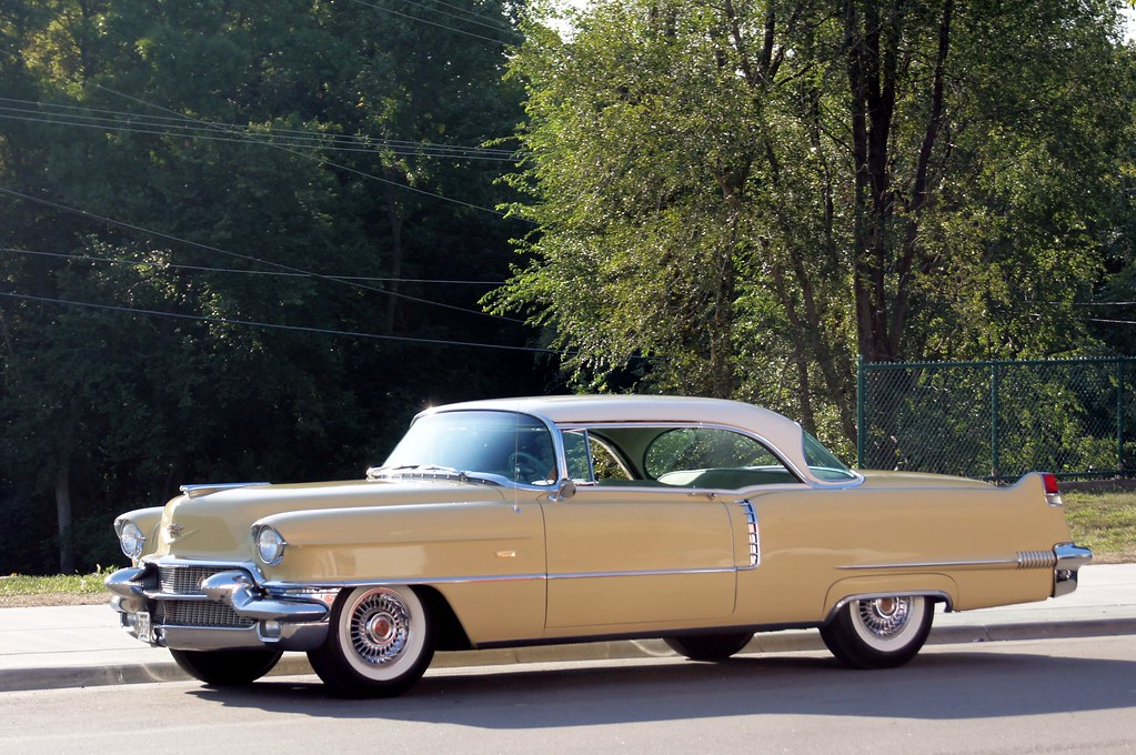56 Cadillac Series 62 26th Annual New London to New Bright… Flickr
