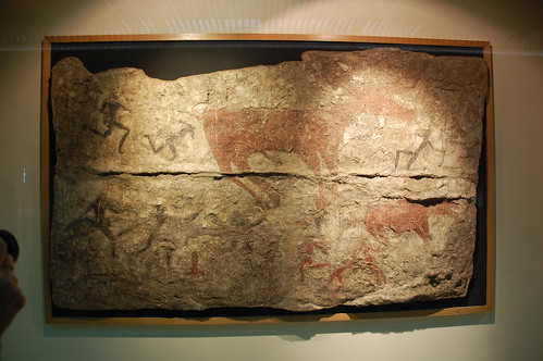 Wall painting recovered from Catalhoyuk | by yfillon7171