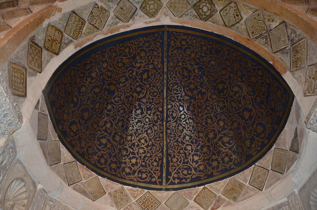 Great Mosque Kairouan Mihrab Mortel Kairouan Great Mosque