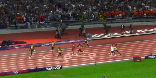 200m final — Usain Bolt | by AndrewJaffe