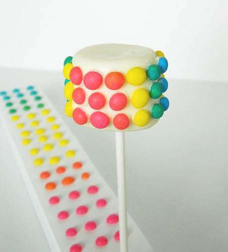 Candy Buttons Marshmallow Pop | by Kim C. (NJ)
