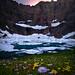 Iceberg Lake Sunset
