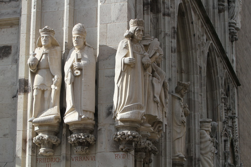 Cologne Cathedral Facade of Cologne Cathedral   by