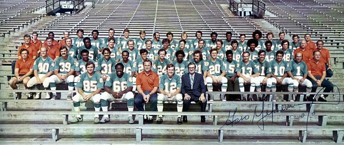 The 1971 Miami Dolphins | by Desperado8