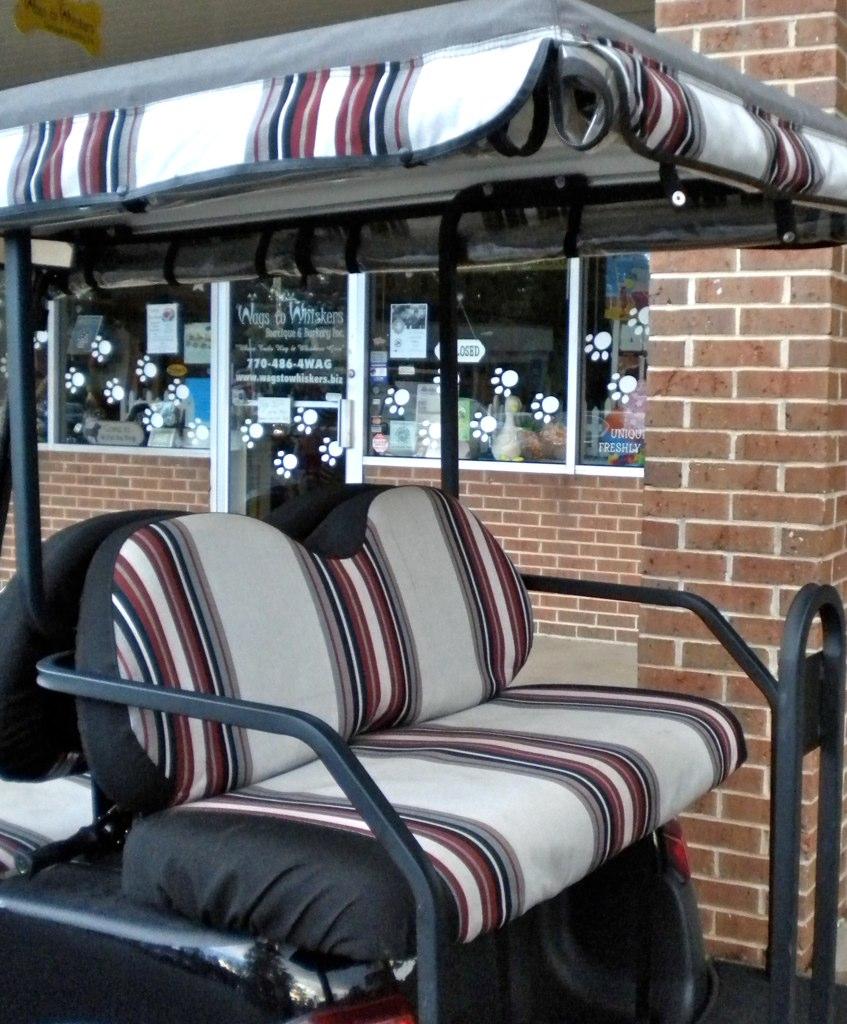 Sunbrella Golf Cart Seat Covers | Sunbrella outdoor fabric ...