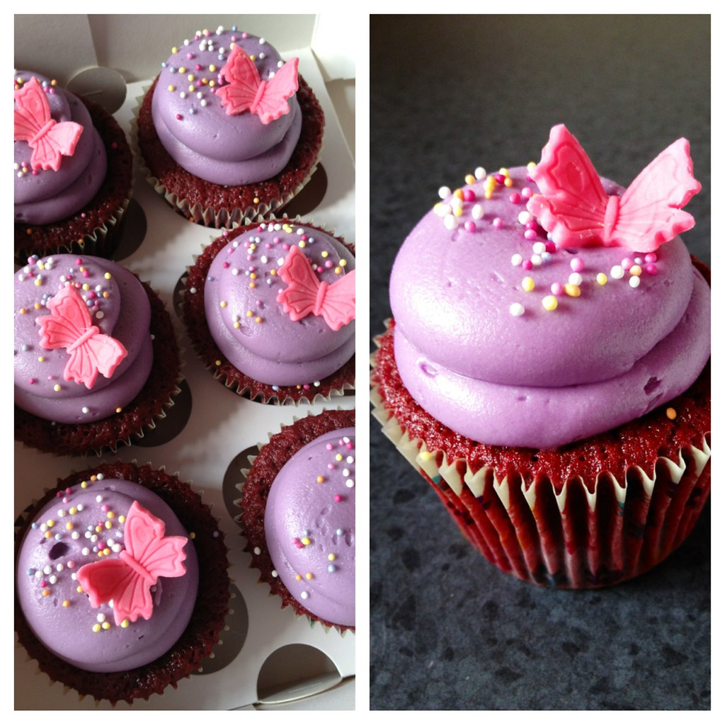Red Velvet Welcome Home Cupcakes Red Velvet Cupcakes With Flickr