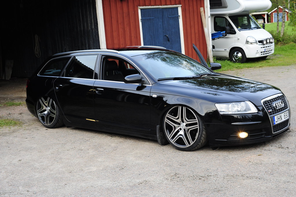 audi a6 s-line | my bagged audi a6 avant s-line 2007 sitting… | flickr