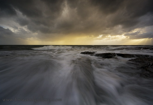 STORMY SUNSET AT SOUTHERNDOWN, SOUTH WALES. | by IMAGES OF WALES.... (TIMWOOD)