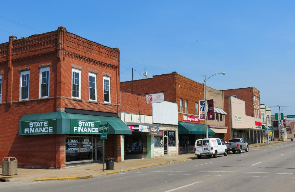 Downtown Carbondale The City Of Carbondale Is Located In