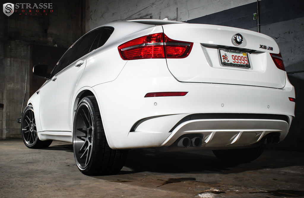 Strasse Forged Wheels Deep Concave Bmw X6 M 22 Inch Sm7