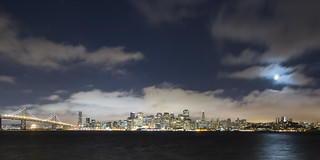 Moonlit San Francisco | by NMB.Photography
