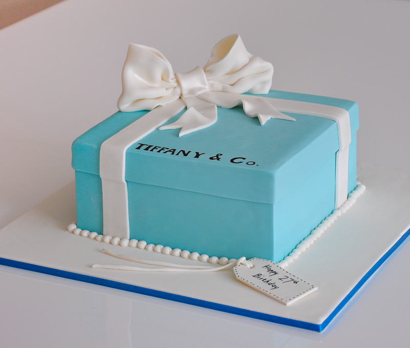 Tiffany Co Box Cake Cake Teacher Flickr
