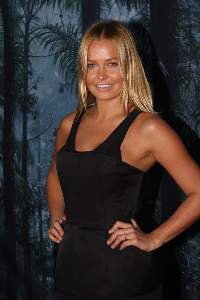 Lara Bingle Ovo Opening Night Celebrity Orange Carpet