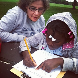 Mommy Daughter Doing homework 9-13-12 | by stevendepolo