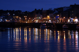 On reflection, Whitby is better at night! | by Mrs. Noah