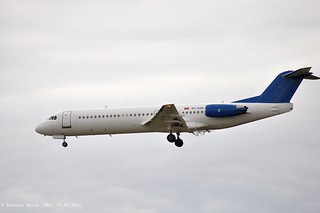 4O-AOM F100 Montenegro Airlines | by phantomderpfalz