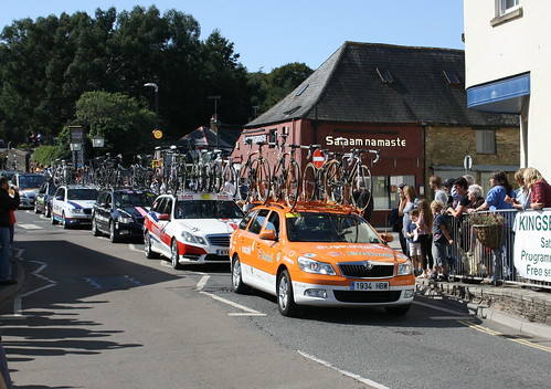 Tour of Britain Support Cars | by lazy south's travels