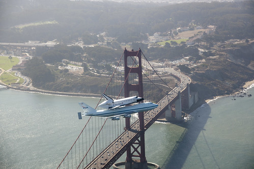 Endeavour Over The Golden Gate Bridge (ED12-0317-012) | by NASA HQ PHOTO