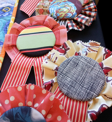Patchwork Rosettes for the Under 35 Quilt Show | by badskirt