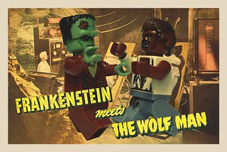 Hammer Horror Lego | by LaPetiteBrique.com