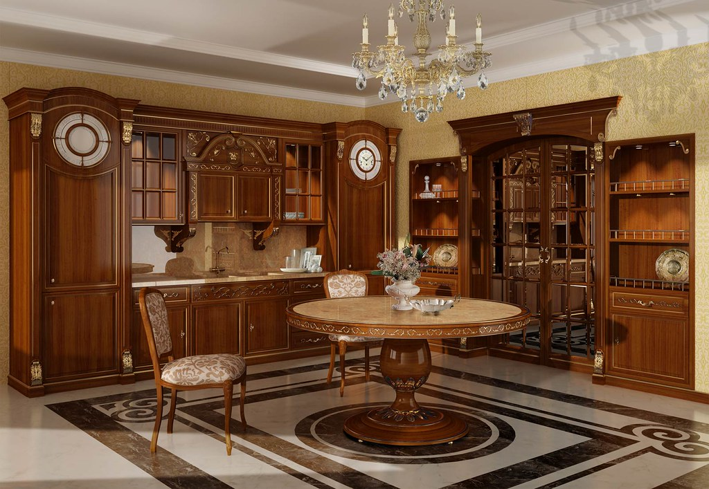 Classic Luxury Kitchen the italian classic luxury kitchen with modern technology | flickr