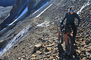 Pushing to the Jiptik pass | by Pikes On Bikes