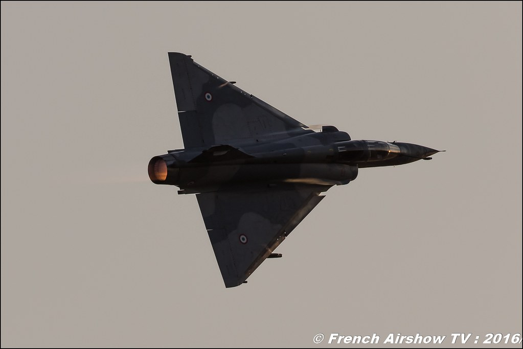 Mirage 2000 B , Dassault Aviation , Sunset , Escadron de chasse 2/5 Île-de-France ,22 ème meeting aérien international de Roanne , Meeting Aerien Roanne 2016, Meeting Aerien Roanne , ICAR Manifestations , meeting aerien roanne 2016 , Meeting Aerien 2016 , Canon Reflex , EOS System