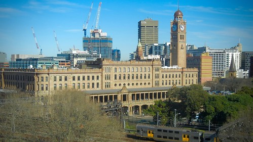 how to get to sydney central station from airport