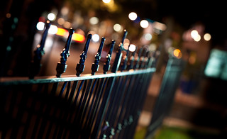 a little fence and bokeh | by Troy Hood Images