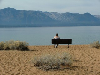 Me on bench at Tahoe | by teama2012