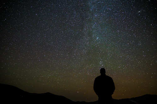 Dave Checking out the Perseid Meteor Shower at 10,000 feet | by Dave Dugdale