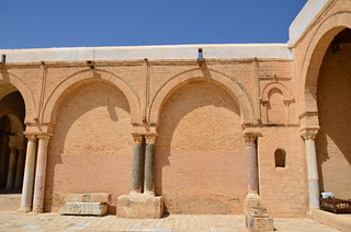 Kairouan, Great Mosque, northwest angle of courtyard (1) | by Prof. Mortel