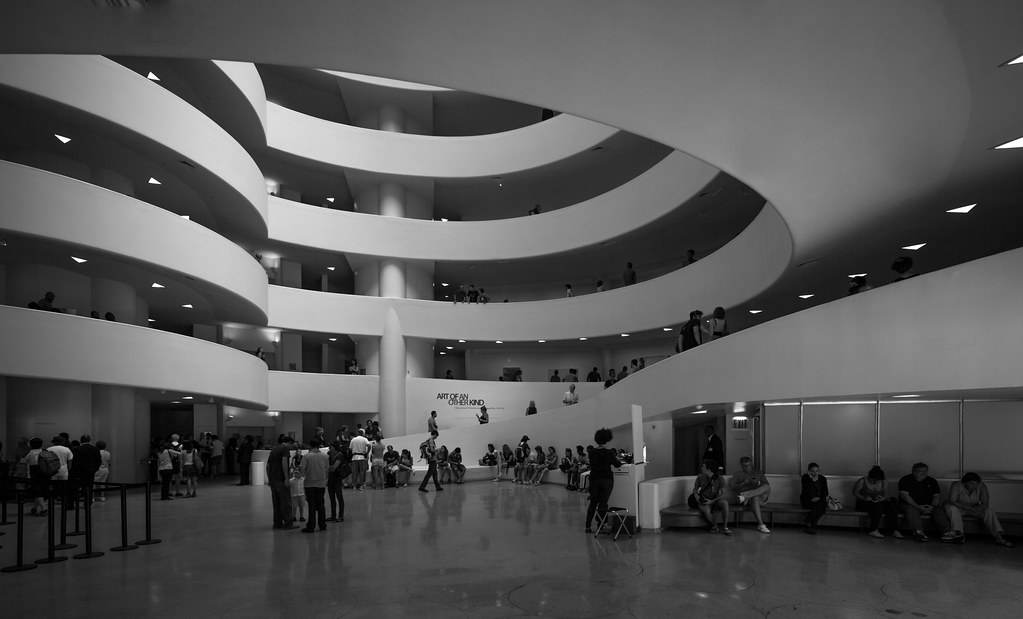 The Solomon R. Guggenheim Museum  Architect: Frank Lloyd Wr…  Flickr