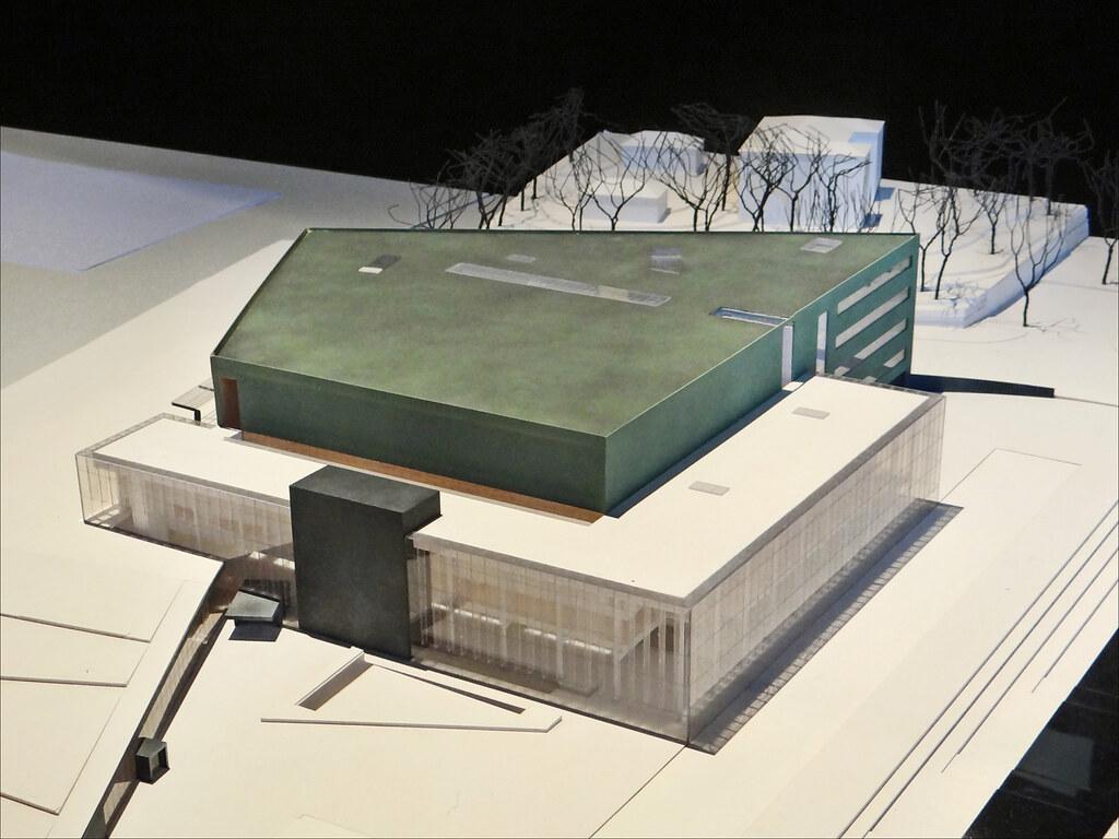 La maquette de la maison de la musique mus e d 39 architectu for Maquette de maison