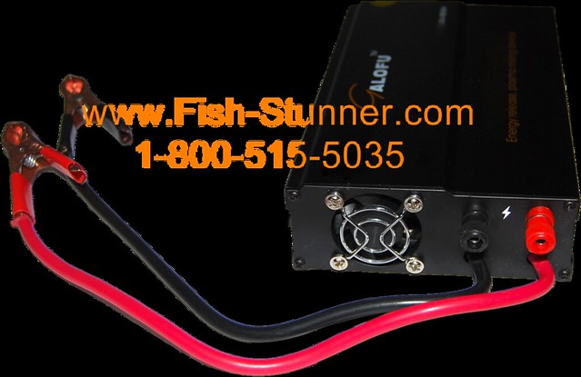 Flickr photo sharing for Battery powered fish finder