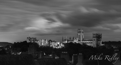 Durham by night | by Mike Ridley.