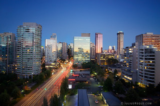 Tonight in Vancouver: Watching the city watching the sunset | by [Rikki] Julius Reque